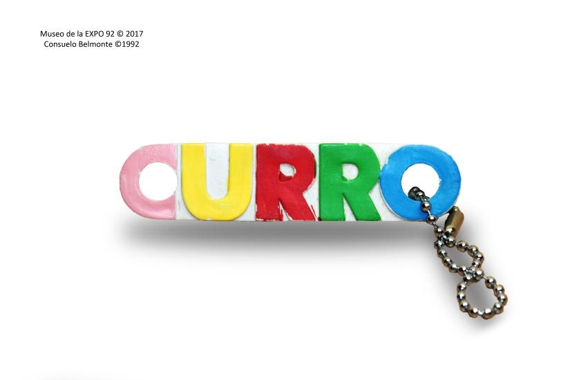 Llavero nombre Curro